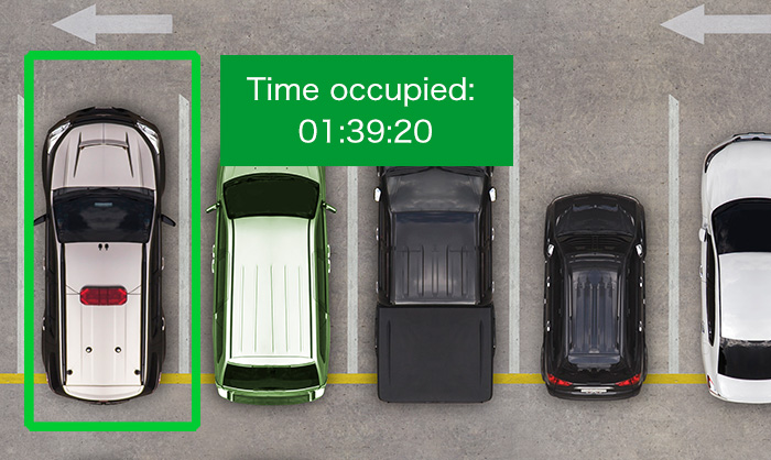 Analyze and predict the use of parking space